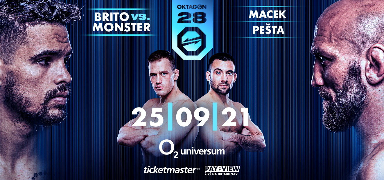 OKTAGON 28 v O2 Universum: Jeden z nejkvalitnějších MMA turnajů v historii Česka s bitvou o krále polotěžké váhy