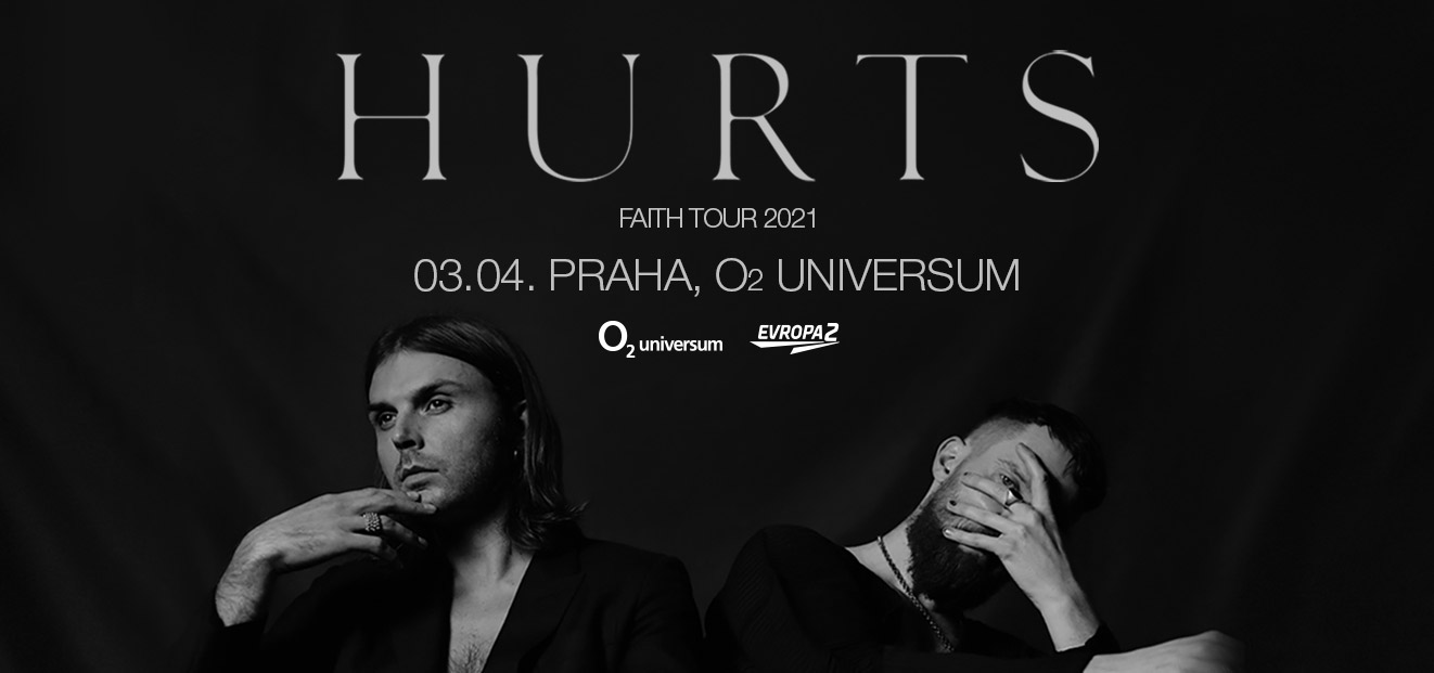 HURTS have announced a new concert date, which was originally planned for 3.4.2021
