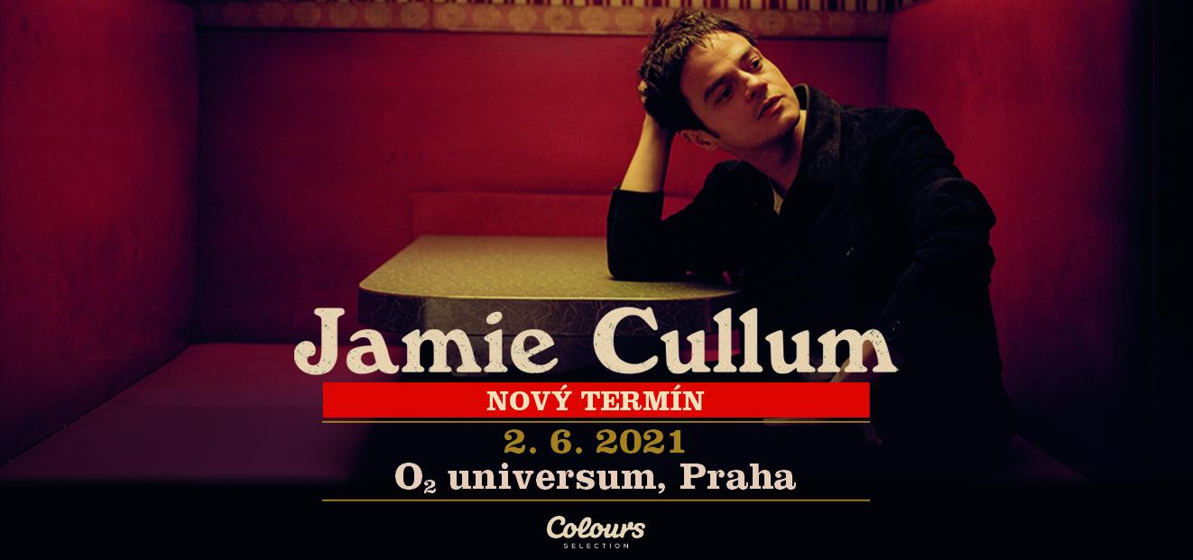 Jamie Cullum postpones his Prague concert on June 2nd, 2021