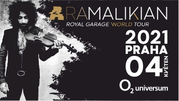 Information about the new date of Ara Malikian's concert on 4.5. 2021