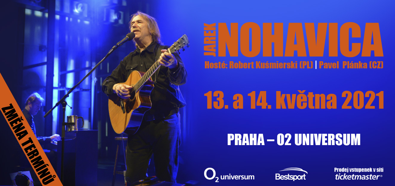 Jarek Nohavica announced new dates of his concerts