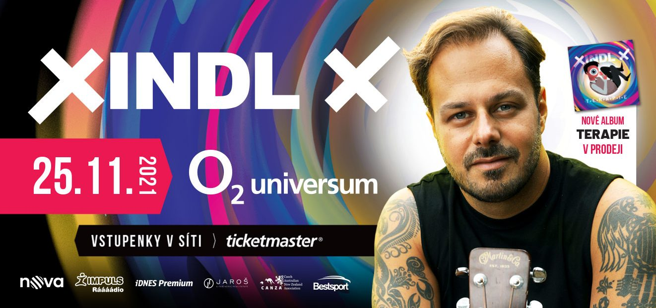 XINDL X will launch the new album THERAPY on November 25, 2021 at the O2 Universe