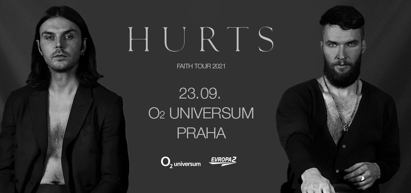 Hurts se rozhodli zrušit celé FAITH Tour, koncert plánovaný na 23. 9. 2021 v pražském O2 universu je zrušen