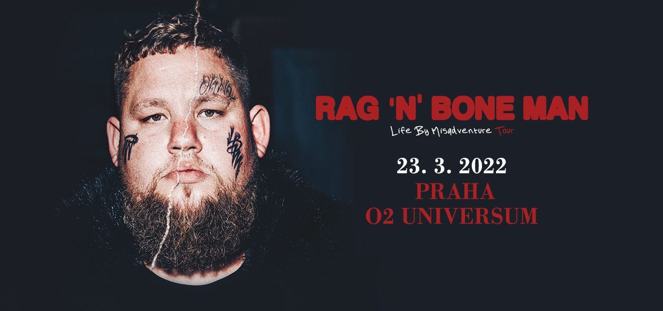 Multi-Award Winning Rag'n'Bone Man brings his Life by Misadventure tour across Europe in March and April 2022