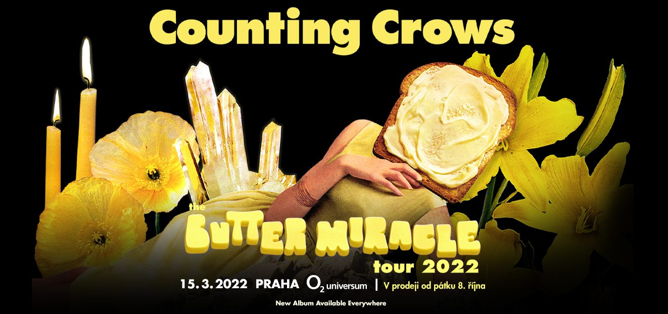 COUNTING CROWS: BUTTER MIRACLE TOUR 2022
